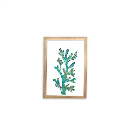 Magical Seaweed print - Gold frame - Mary Tale