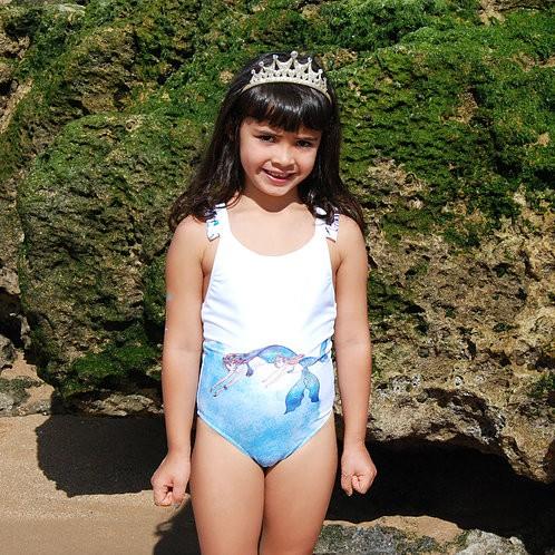 Loving Sea Girl Swimsuit in model - Mary Tale