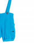 Blue Organic Shorts