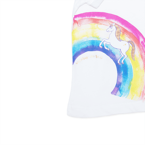 Unicorns are real t-shirts detail - Mary Tale