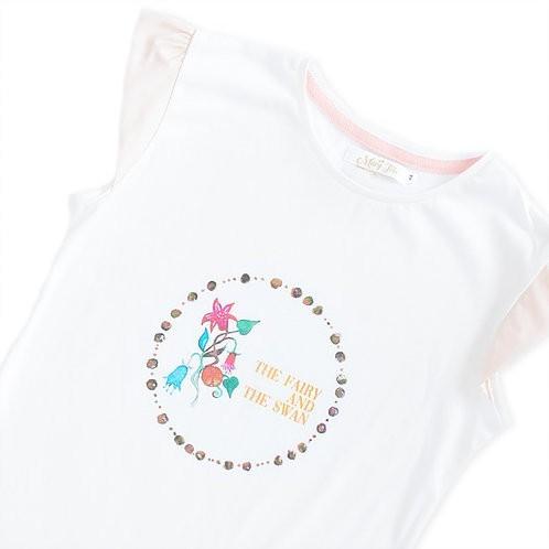 Camisola Fairy Branca - Detalhe