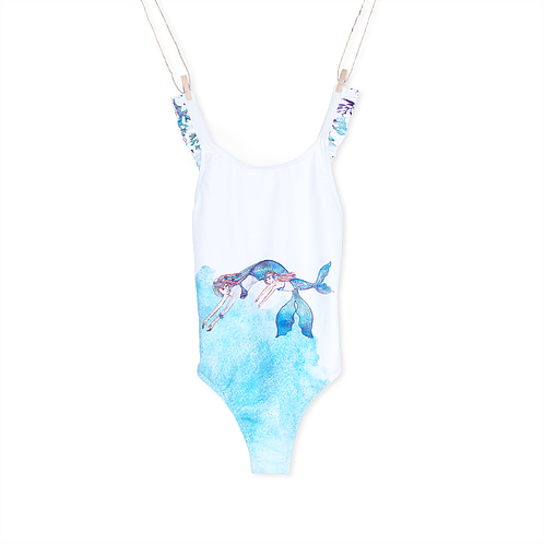 Loving Sea Girl Swimsuit - Mary Tale