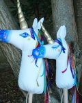 Unicorns Baby and Mother - Mary Tale