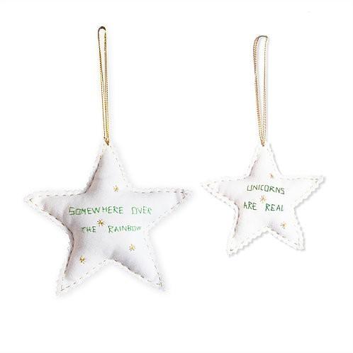 Estrelas Unicórnio Verde