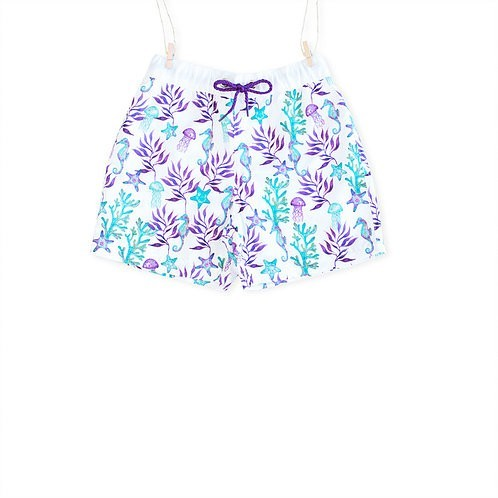 Seaprint Loving Sea swimming shorts (front) - Mary Tale