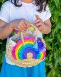 Mala de mão Rainbow Menina - detalhe