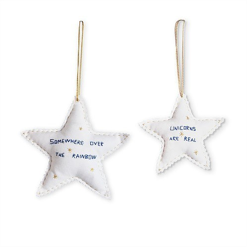 Estrelas Unicórnio Amarelo