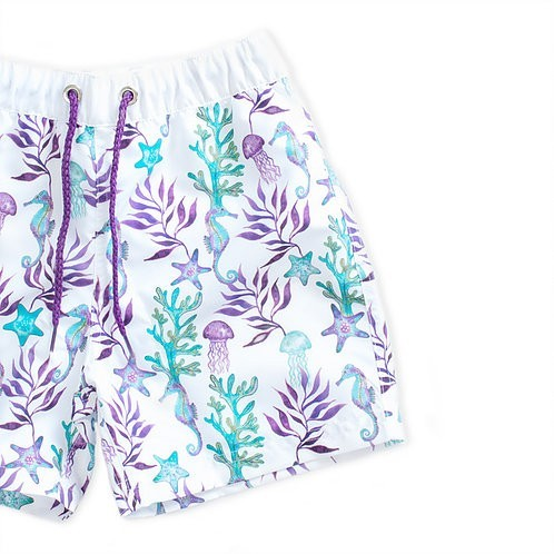 Shorts Loving Sea - Detalhe