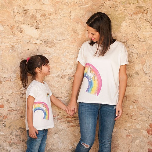 Unicorns are real t-shirts - Mary Tale