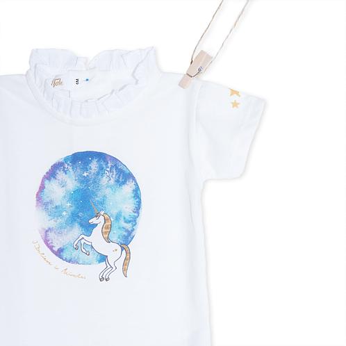Body Unicorn Azul - Detalhe