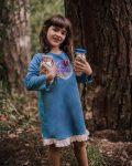 Vestido Curto Fairy - Modelo