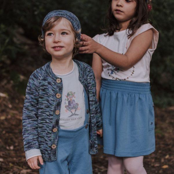 Organic Blue Skirt - Mary Tale