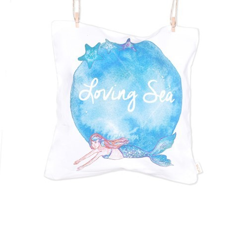 Mermaid Pillow - Loving Sea Collection - Mary Tale