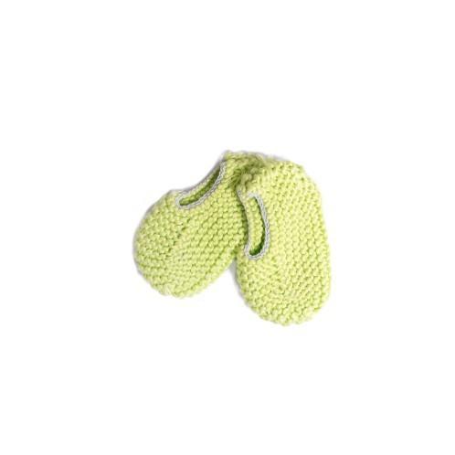 Sapatos recém nascido verde 2