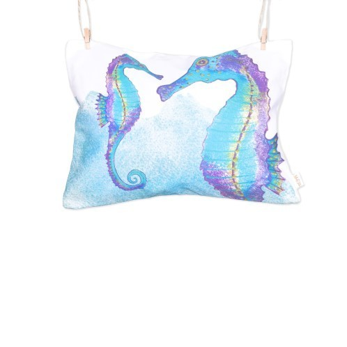 Sea Horse Pillow - Loving Sea Collection - Mary Tale