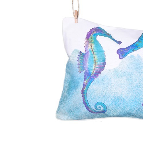 Sea Horse Pillow 3 - Loving Sea Collection - Mary Tale