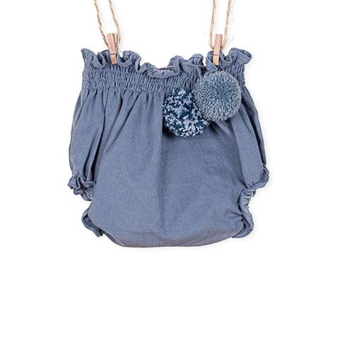 Tapa Fralda Angel Azul para bebé