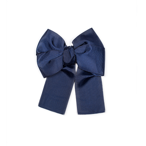 blue bow for girls hair