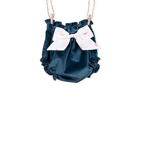 Blue Velvet Bloomer