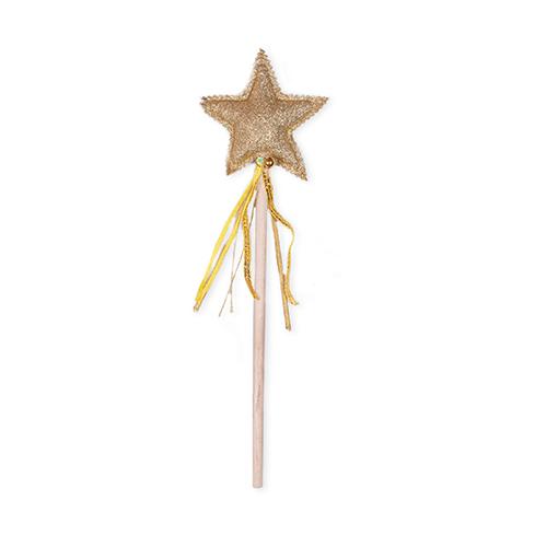 Varinha Mágica Dourada para brincar e decorar