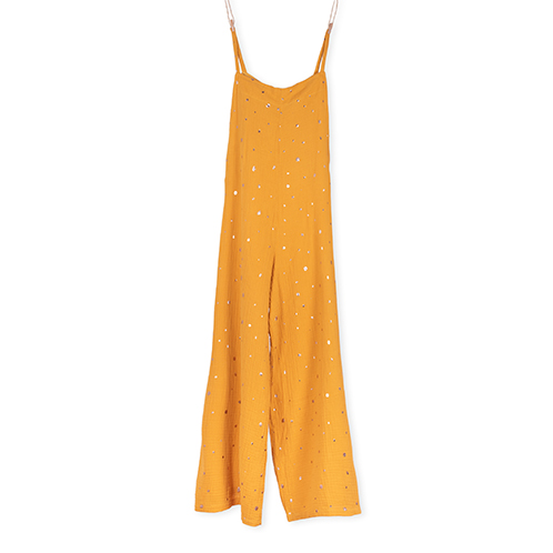 Mustard Jumpsuit Mother