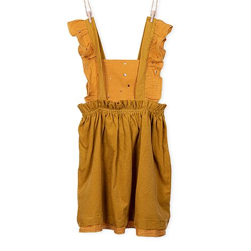 Mustard Skirt Girl