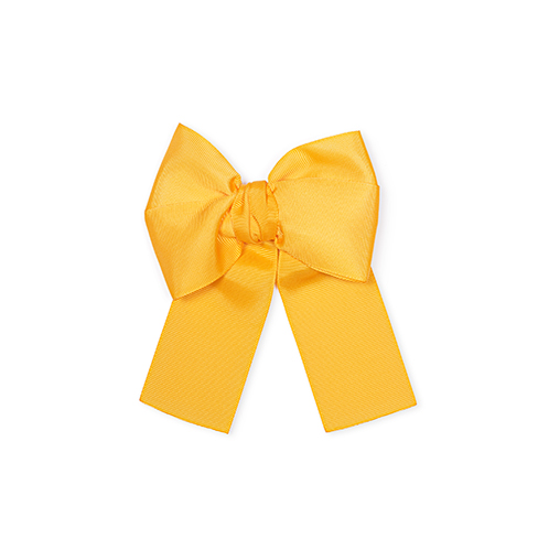 Mustard Bow for girls hair
