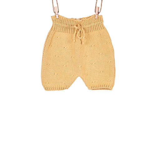 Knitted bee shorts