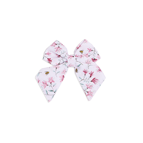Pink bee bow