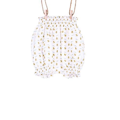 baby bow organic shorts